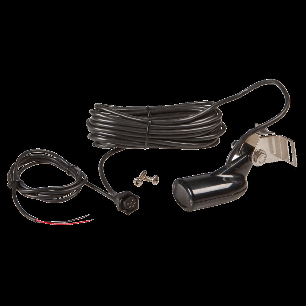 #21374 {4*A-0} Lowrance skimmer transducer XDCR ASY HST-WSU BB