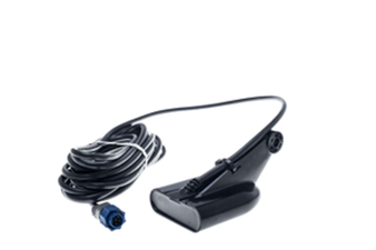 Transom-mount, 50 kHz/200 kHz Broadband and DownScan™ Transducer