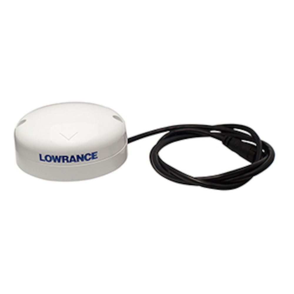 Lowrance 000-11047-001 Point 1 GPS Receiver Antenna w// Integrated Compass w// GPS