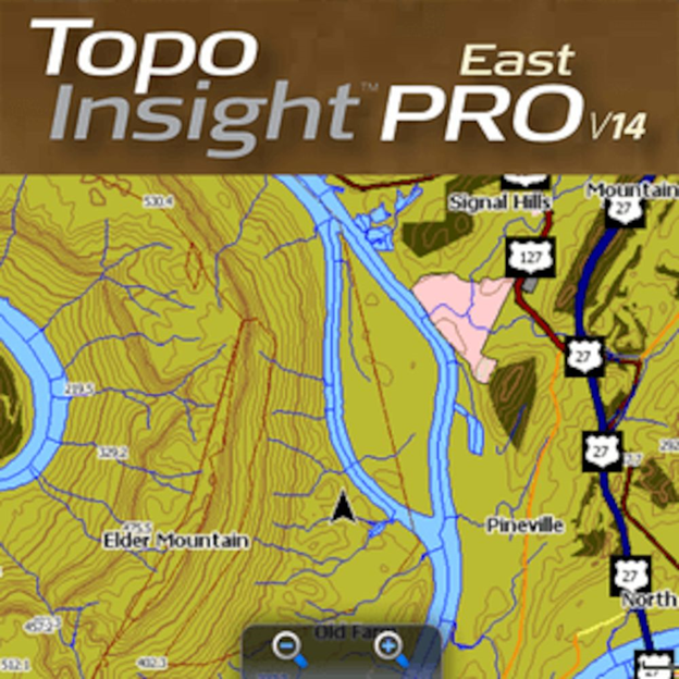 Topo Insight Pro East V14