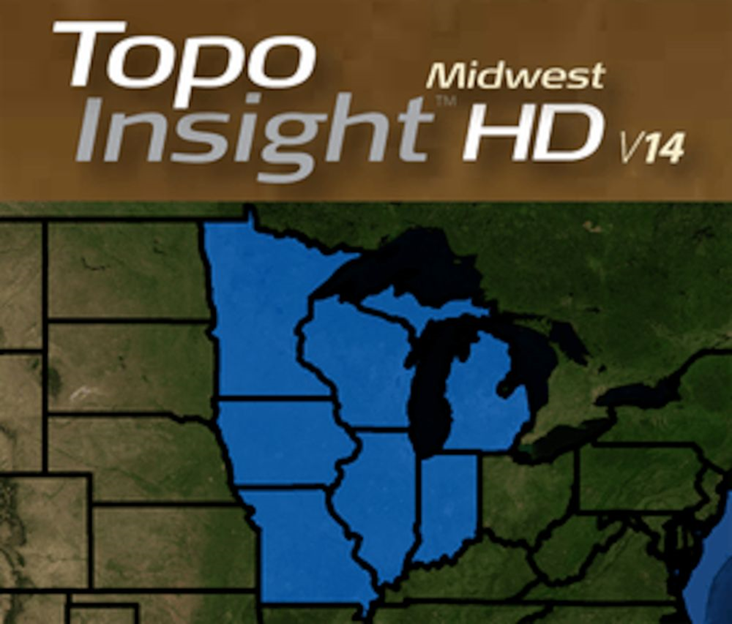 Topo Insight HD Midwest V14