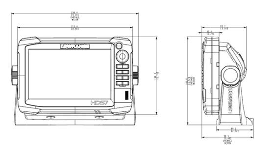 HDS7 Gen3 Fishfinder Chartplotter Lowrance – Lowrance Hds 7 Wiring Diagram