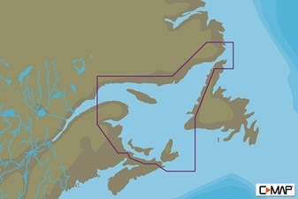 C-MAP MAX-N+ L: GULF OF ST. LAWRENCE