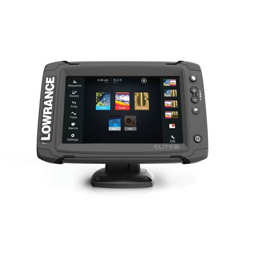 Elite-7 Ti With Totalscan Transducer | Fishfinder & Chartplotter | Lowrance  USA
