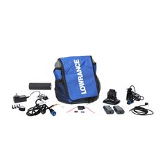 Ice Fishing Pack Transducer & Power Cord, Blue