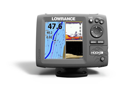 lowrance elite 5 hdi hook up