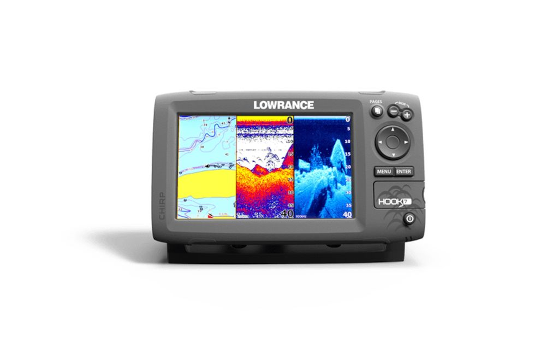Hook 7 Fishfinder Chartplotter Lowrance Usa Mark 4 Wiring Diagram Zoom Image