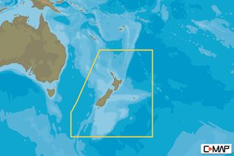C-MAP MAX-N W: NZ/CHATHAM I/KERMADEC I