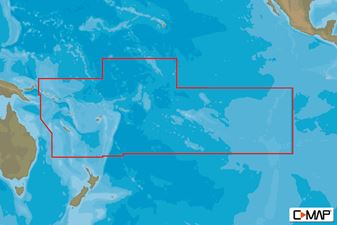 C-MAP MAX-N W: SOUTH PACIFIC ISLANDS