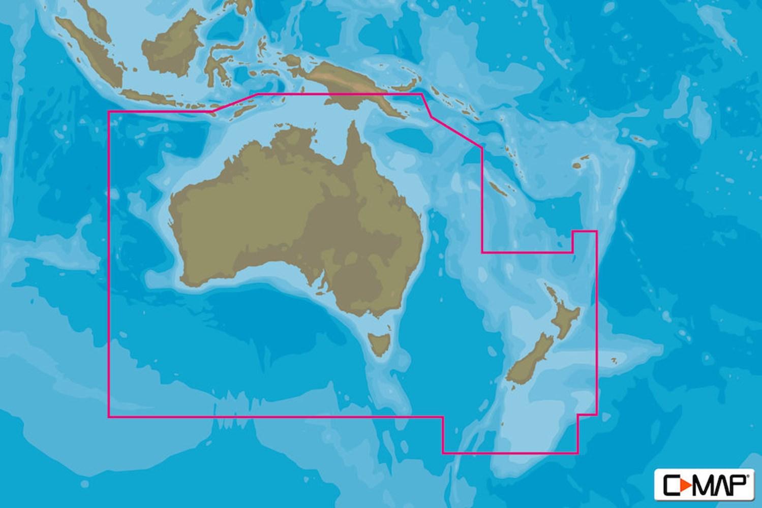 Australia Map Zoom.C Map Max N C Australia Coastal Contl Lowrance