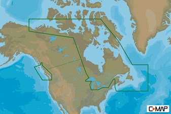 C-MAP MAX-N+ C: CANADA CONTINENTAL