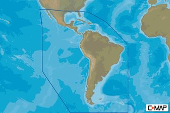 C-MAP (Max-N+): South America / Caribbean