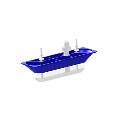 StructureScan 3D Thru-Hull Fairing Block