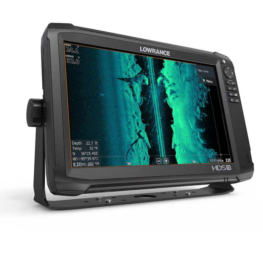 HDS-12 Carbon With StructureScan 3D | Fishfinder & Chartplotter ...