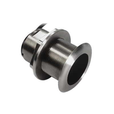 xSonic SS60 Stainless Steel Thru Hull Low Profile Transducer with 12° Tilt