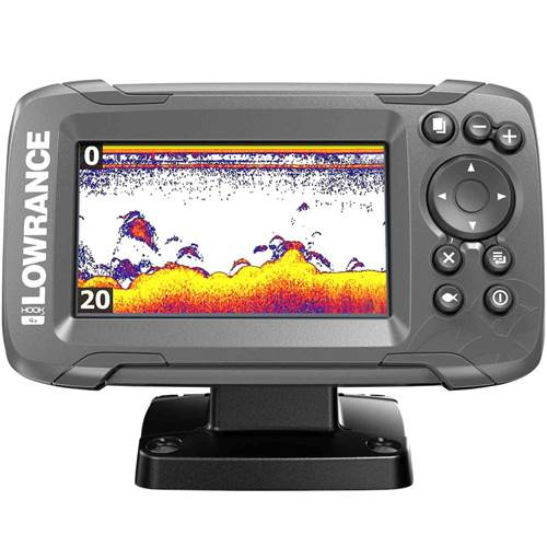 HOOK² 4x with Bullet Skimmer Transducer   Lowrance USA