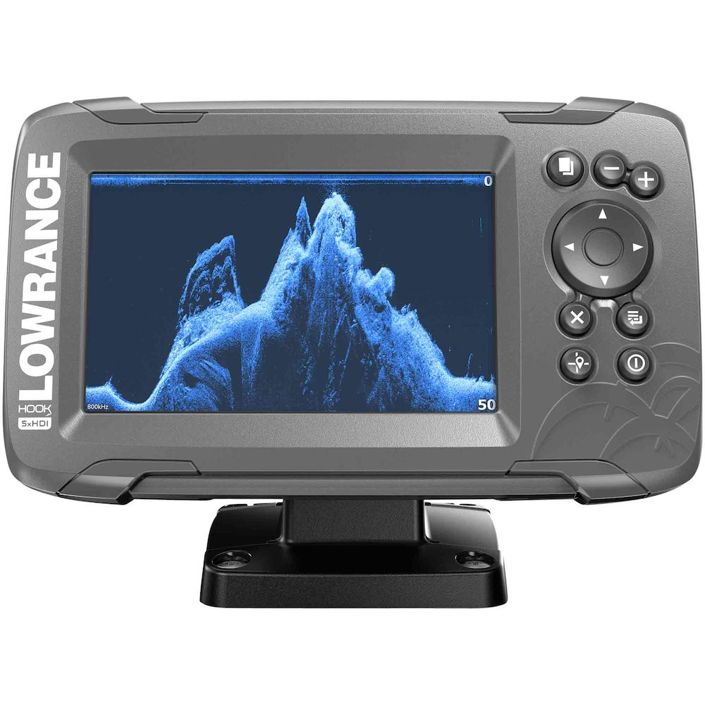 HOOK² 5 with SplitShot Transducer and US / Canada Nav+ Maps