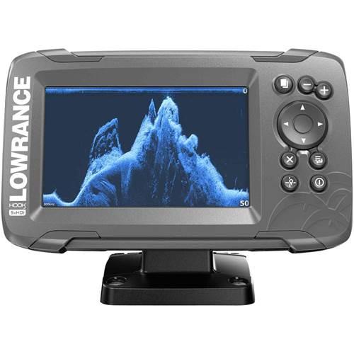 HOOK² 5 with SplitShot Transducer and US / Canada Nav+ Maps | Lowrance USA