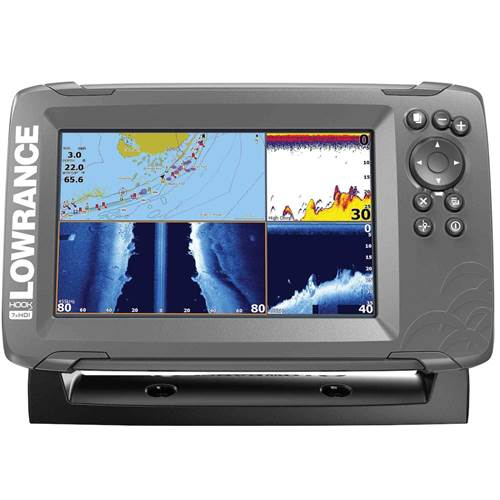 HOOK² 7 with TripleShot Transducer and US Inland Maps | Lowrance USA