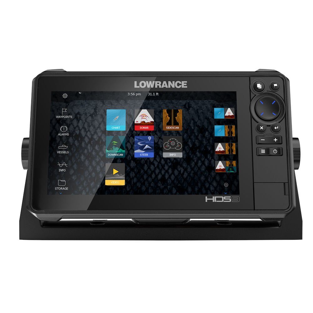 Lowrance Elite 9 Ti Fishfinder Chartplotter Mark 4 Wiring Diagram Hds Live With Active Imaging 3 In 1