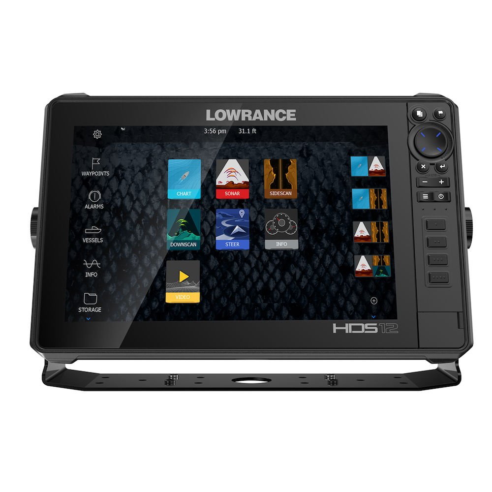 HDS-12 LIVE with Active Imaging 3-in-1 | Lowrance USA