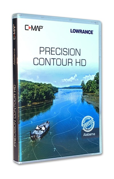 C-MAP Precision Contour HD - Alabama