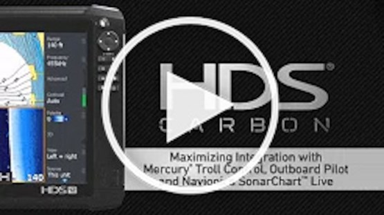 HDS Carbon Integration - The Outboard Pilot, Troll Control and SonarChart Live Trifecta