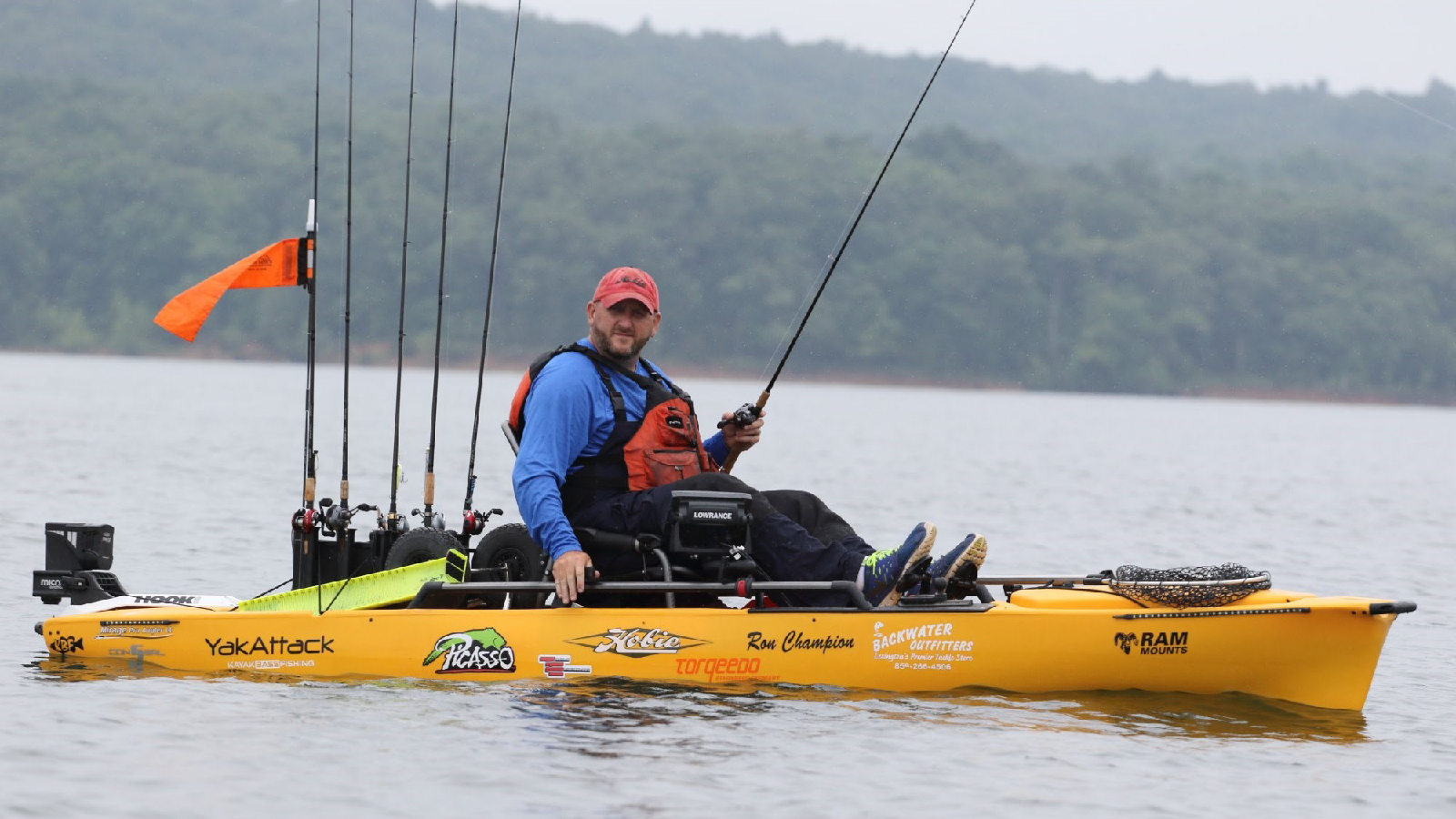 Ron Champion - Kayak Fishing Pro
