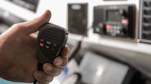 0048d494 ... waterproof VHF marine radios meet international compliance standards  and are relied on by both commercial and recreational anglers and boaters.
